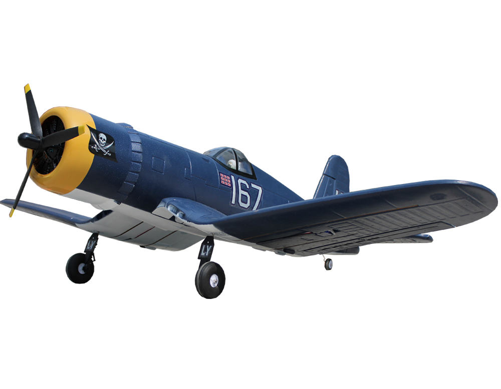 F4U Corsair 55.1''/1400mm EPO Electric RC Airplane PNP