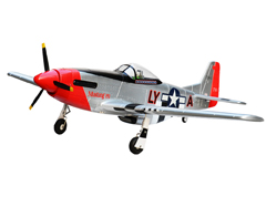 P-51 Mustang 1400mm/55.1'' Electric RC Airplane kit