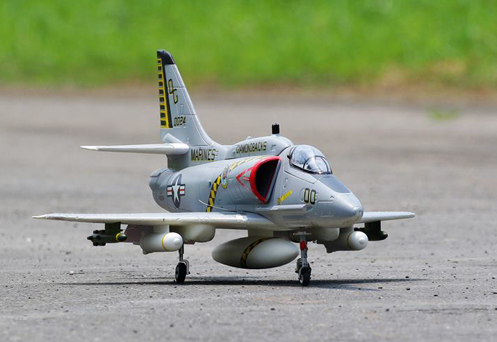 LX Super A-4 Skyhawk RC EDF Jet Kit