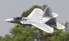 LX F-22 Raptor 70mm EDF RC Jet Airplane With Retracts PNP, Returned Item