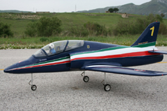 Flyfly Aermacchi MB 339 90mm EDF RC Jet Kit Version
