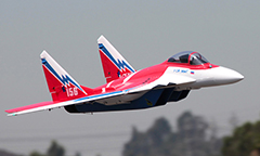 LX  Super Mig-29 RC EDF Jet Kit Red