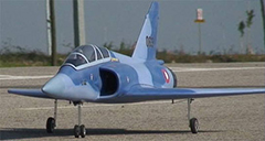 Flyfly Mirage 2000 90mm EDF Electric RC Jet Kit Version