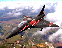 Mirage 2000 Ready-To-Fly 64mm EDF Electric RC Jet Airplane Powered by Brushless Motor and LIPO Battery