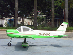 MONSUN 50CC 100''/2540mm Scale RC Plane Green