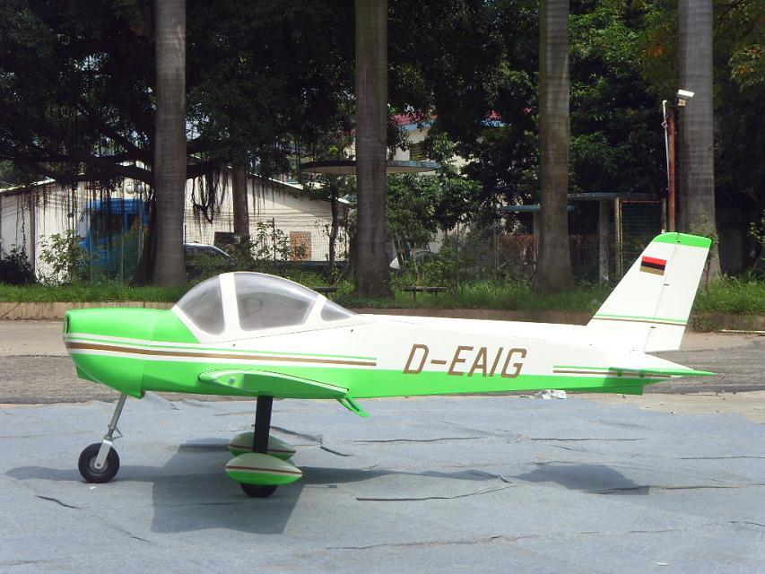 MONSUN 50CC 100''/2540mm Scale RC Plane Green, Returned.
