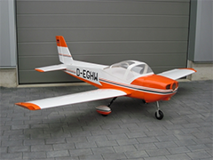 MONSUN 50CC 100''/2540mm Scale RC Plane Orange