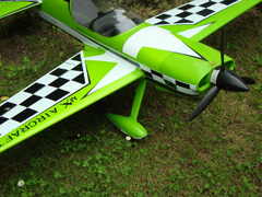 Starmax MX-2 1400mm EPO Aerobatic RC Airplane PNP, Return Item