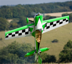 Skyline MX-2 50 57'' 3D Aerobatic Electric/Nitro RC Airplane A Green, Returned Item