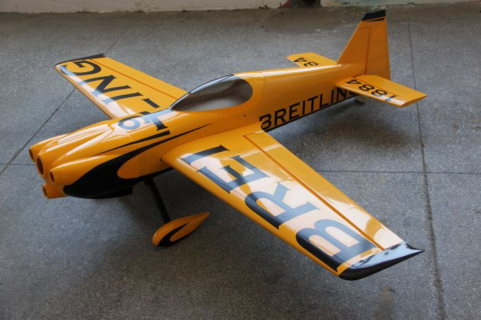 Skyline MXS-R 30CC Breitling B 75''/1915mm Aerobatic RC Airplane V2 Carbon Reinforced Version
