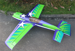 Goldwing MXS-R 70 60'' Aerobatic Electric/Nitro Carbon Fiber RC Airplane Green A