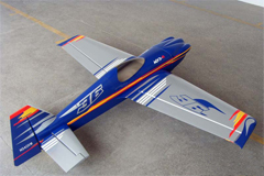 Goldwing ARFMFG Brand MXS-R 70 60'' Aerobatic Electric/Nitro RC Airplane Blue B
