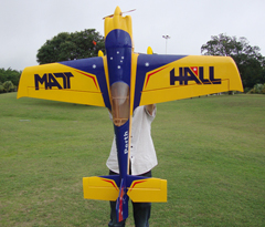 Skyline MXS-R 30CC Mat Hall 75''/1915mm Aerobatic RC Airplane V2 Carbon Reinforced Version