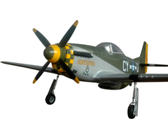 P-51 Mustang Gunfighter 1550mm/61'' EPO Electric RC Airplane With Retracts PNP