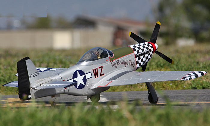 P-51 P51 P-51D Mustang 2.4G 4CH Electric R/C RC Airplane Plane 100% Ready To Fly