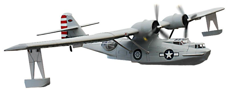 PBY Catalina 2.4G Brushless/LIPO Electric RC Airplane PNP