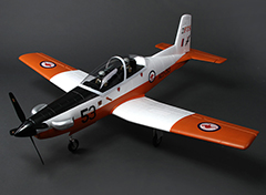 Unique Models Pilatus PC-9 Warbird Trainer 1200mm PNP Orange