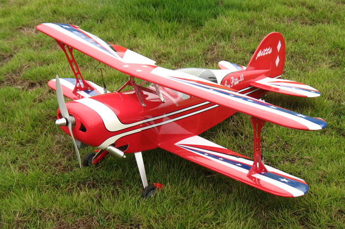 Pitts 40 42'' Nitro Gas RC Bipe Biplane Airplane ARF