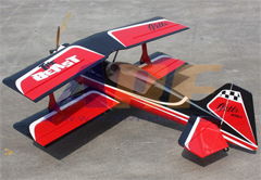 Goldwing ARF-Brand Pitts Python 50CC 71''/1800mm Version 2 RC Plane Red A