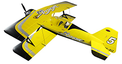 Flyfly Pitts-12 Python 1400mm EPO Electric RC Plane Kit Version
