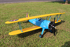 Unique Models Boeing PT-17 1200mm Electric RC Plane PNP