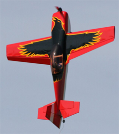 Raven 30E 49'' 3D Aerobatic Electric RC Airplane