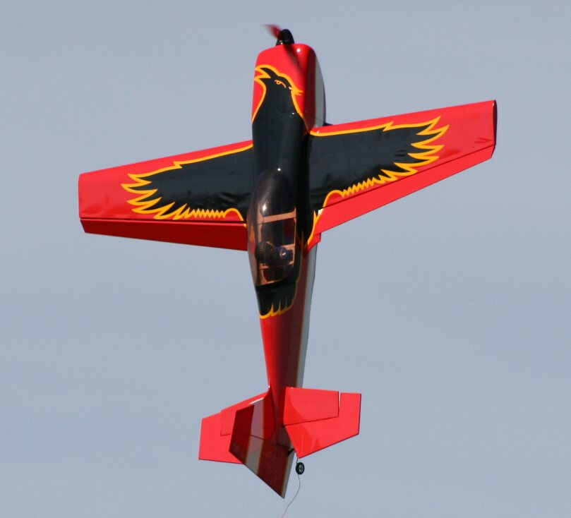 Raven 30E 49'' 3D Aerobatic Electric RC Airplane, Returned Item