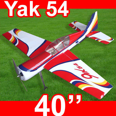 Yak 54 40'' Electric RC Airplane ARF kit