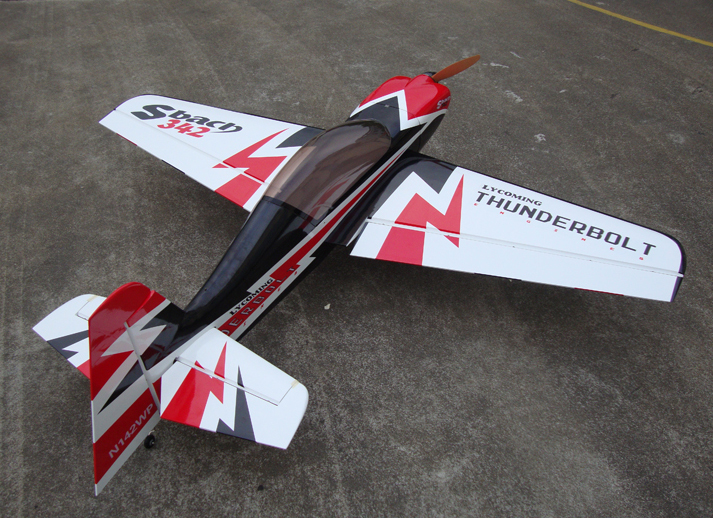 Skyline SBach 342 30CC 73''/1860mm Pre-hinged Carbon Fiber Aerobatic RC Airplane A