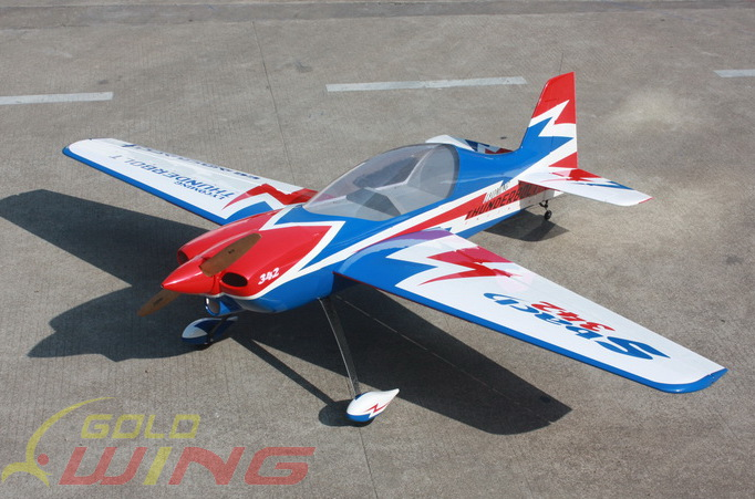 Goldwing ARF-Brand SBach 120E 73'' Carbon Fiber Electric Aerobatic RC Plane B