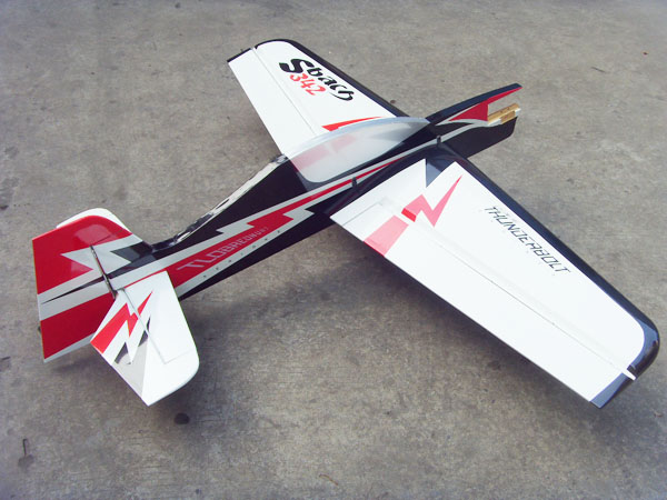Sbach 342 20CC 65'' Profile Aerobatic RC Airplane White A
