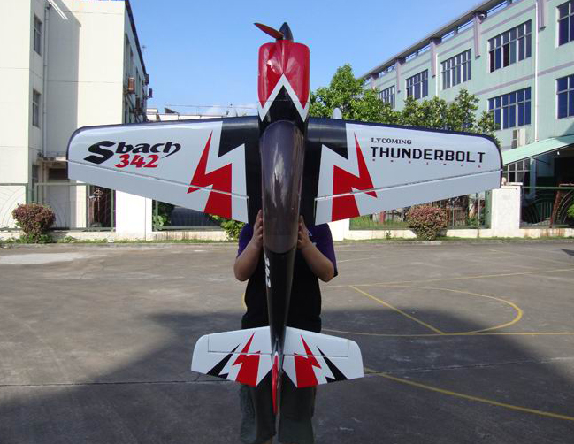 Skyline SBach 342 Thunderbolt 30CC 73'' Aerobatic RC Airplane