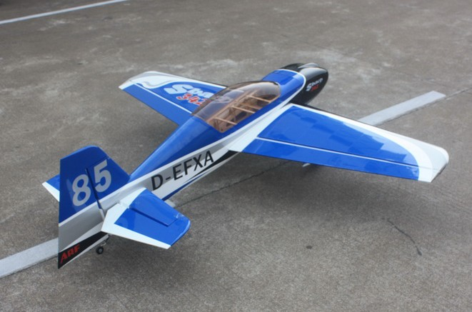 Goldwing ARF-Brand SBach 342 30CC Gas RC Airplane B Blue, Returned Item