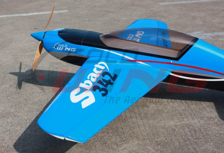 Goldwing SBach 342 30CC  73''/1860mm All Carbon Aerobatic RC Airplane Version 3