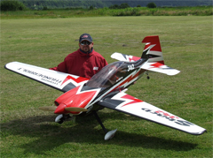 Goldwing Sbach 342 30CC V3 All Carbon Aerobatic RC Airplane Version 3 White