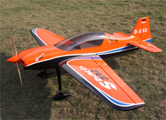 Goldwing Sbach 342 30CC V3 All Carbon Aerobatic RC Airplane Version 3 Orange B