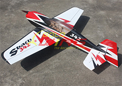 SBach 342 50E 55'' Thunderbolt Aerobatic RC Airplane A
