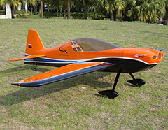Skyline SBach 342 70 60'' Aerobatic RC Airplane Carbon Version Orange B
