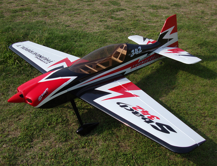Skyline SBach 342 70 60'' Aerobatic RC Airplane Carbon Version A