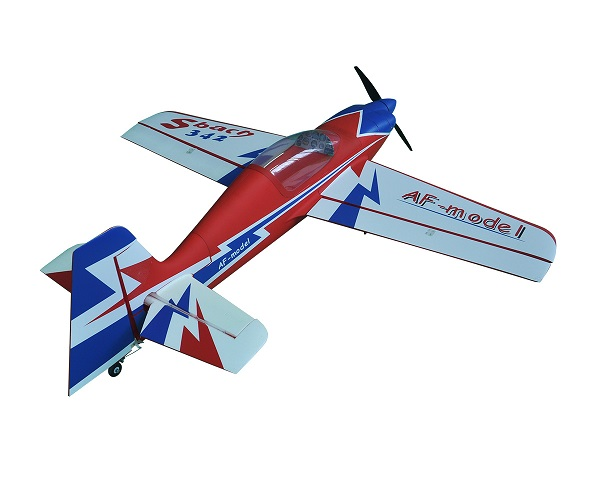 HSD Sbach 342 1400mm Wingspan EPO Electric RC Plane Kit Blue