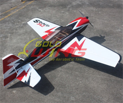 Goldwing All-Carbon-Fiber Sbach 342 50E 55'' Aerobatic RC Airplane Thunderbolt A