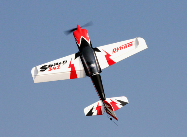Dynam Sbach 342 Aerobatic RC Plane 1250mm Ready-To-Fly