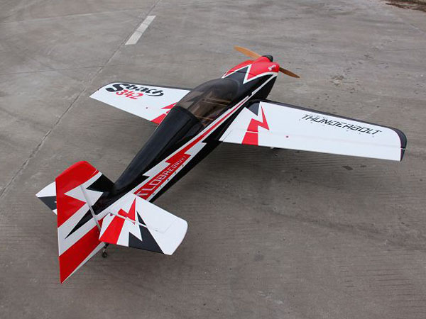 Sbach 342 30CC 73'' Carbon Fiber RC Airplane A