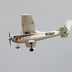 Dynam Scout 980mm Electric RC Plane Ready-To-Fly
