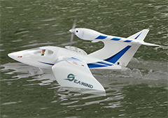 "Dynam Seawind 1220mm (48"") Wingspan Electric RC Plane PNP"