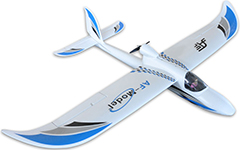 Sky Surfer 1400mm/55'' EPO Electric RC Airplane Kit Blue
