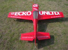 Skyline MX-2 30CC 73'' 3D Aerobatic RC Airplane Red B