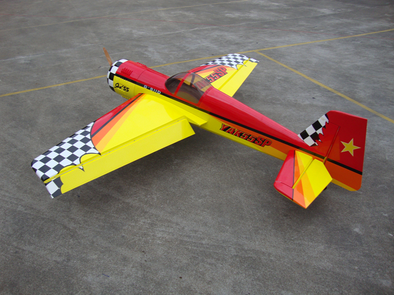 Skyline Yak 55SP 50CC 88'' 3D Aerobatic RC Airplane With All Carbon Fiber Accessories