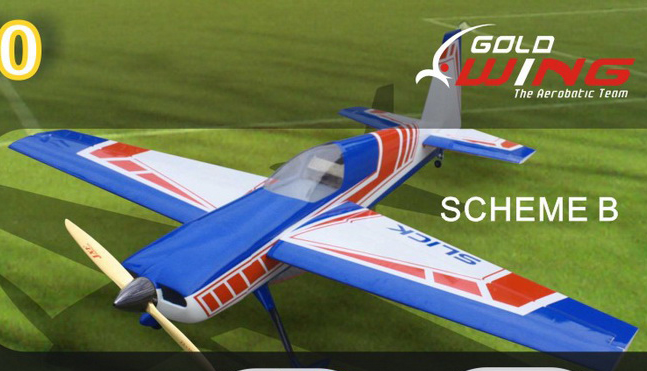 Goldwing 109'' Slick 540 V4 RC Plane B