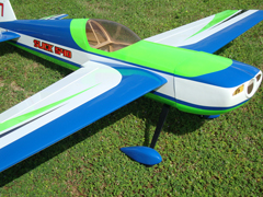 Skyline Slick 540 50E 55''/1400mm B 3D Aerobatic RC Airplane ARF Pre-Hinged Carbon Version